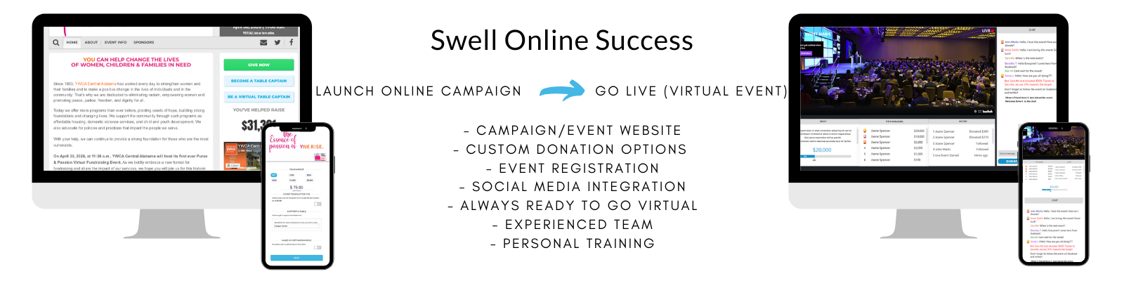 Online Virtual Fundraising